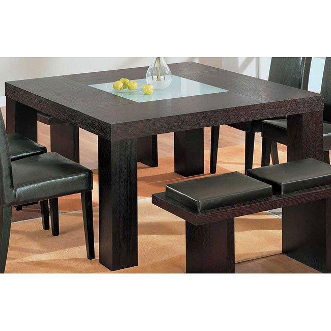 g020 dining table brown global furniture furniturepick. Black Bedroom Furniture Sets. Home Design Ideas