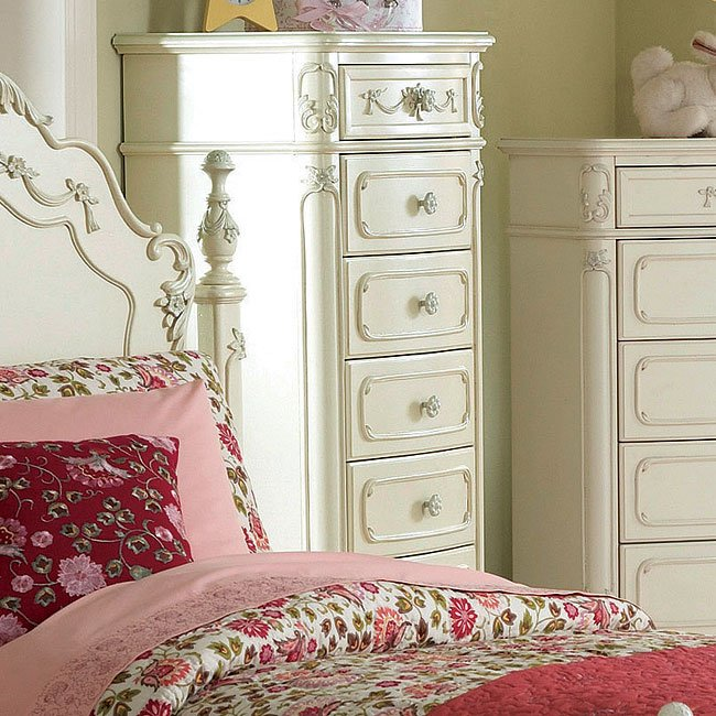Cinderella Youth Low Post Bedroom Set By Homelegance, 3