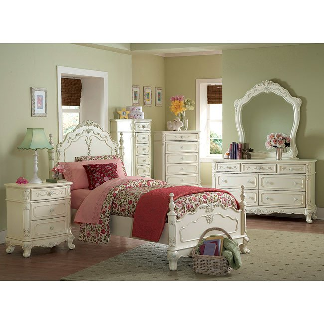 Cinderella Youth Low Post Bedroom Set by Homelegance, 3 Review(s ...