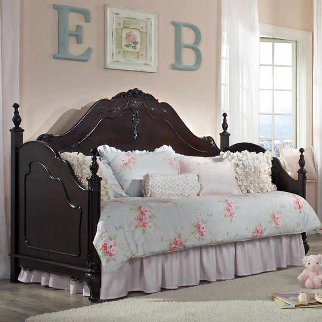 cinderella daybed cherry homelegance furniturepick