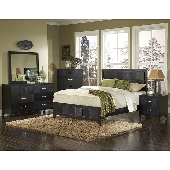 York Low Profile Bedroom Set By Homelegance