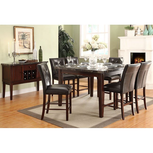 Decatur Counter Height Dining Room Set Homelegance Furniturepick