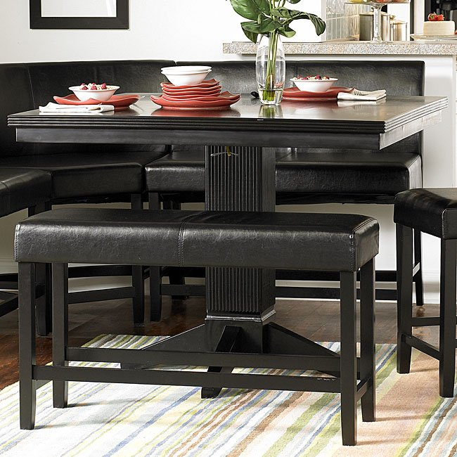 Papario Counter Height Dining Table By Homelegance