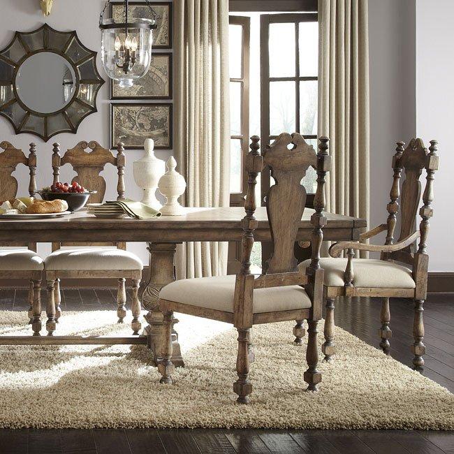 pulaski furniture dining room set | Desdemona Dining Room Set w/ Kyra Chairs Pulaski Furniture ...