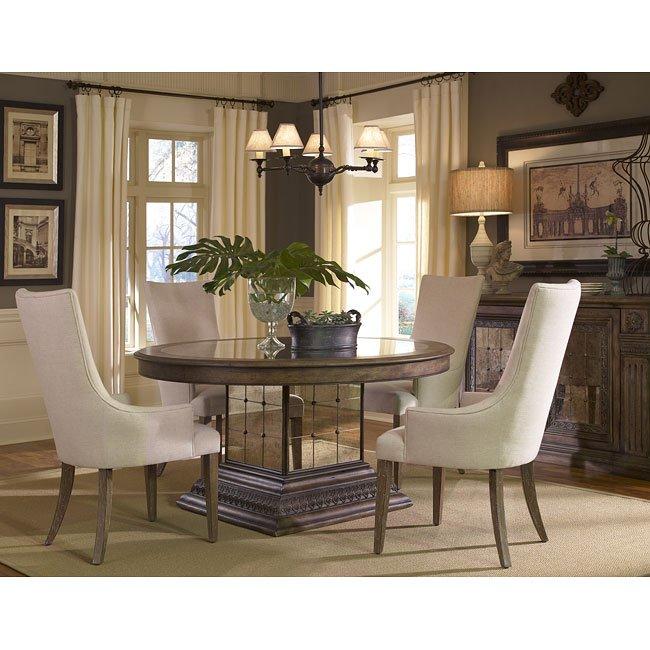 Aphrodite Custom Dining Room Set By Pulaski Furniture, 1