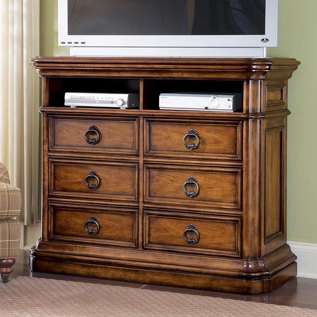 San Mateo Media Chest By Pulaski Furniture Furniturepick