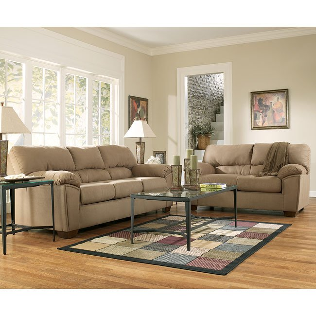 Mocha Living Room Set By Signature Design By