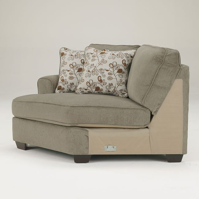 Patola Park Patina Sectional W Cuddler By Signature