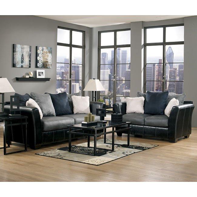 Cobblestone Living Room Set Signature Design By