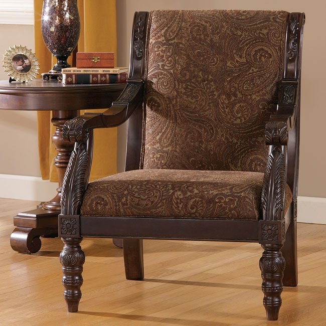 Truffle Showood Accent Chair Signature