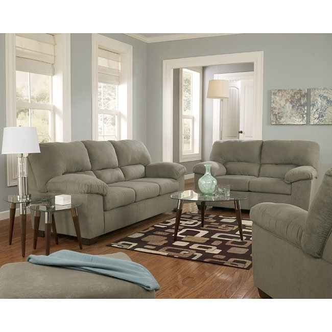 Zadee Sage Living Room Set by Signature Design by Ashley ...