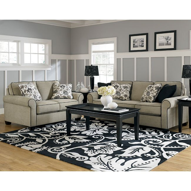 caroline sepia living room set signature design by 17700 | sig 17700 38 35 t131 lr set 1
