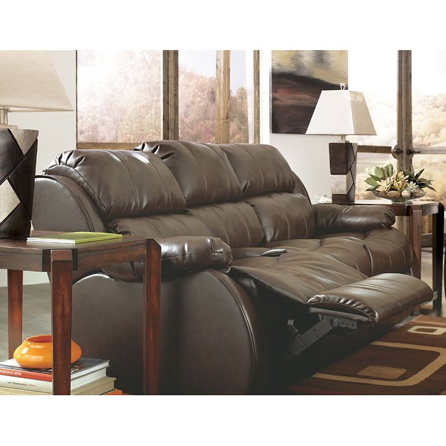 Durablend Cafe Reclining Sofa W Dual Mage