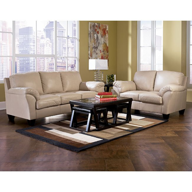 Ashley Furniture Rivergate: Stone Living Room Set Signature Design By