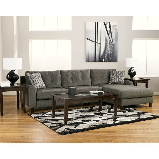 Siroun - Steel Sectional (Right Side Chaise) | The Classy Home