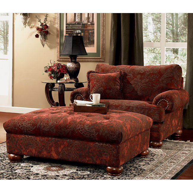 Burlington Sienna Living Room Set By Signature Design By