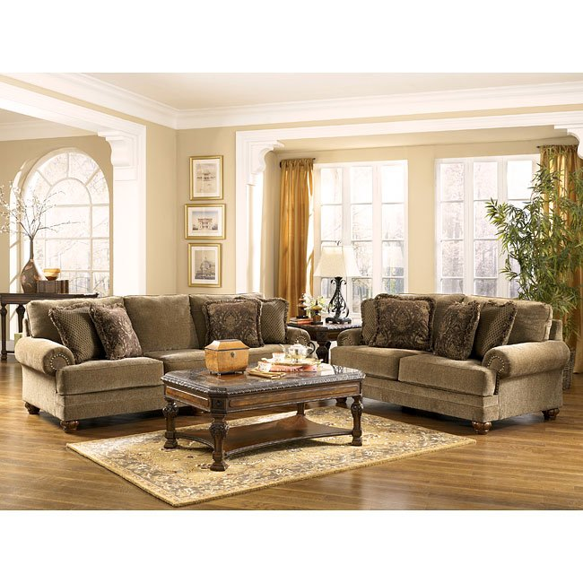 Stafford - Antique Living Room Set by Signature Design by Ashley ...