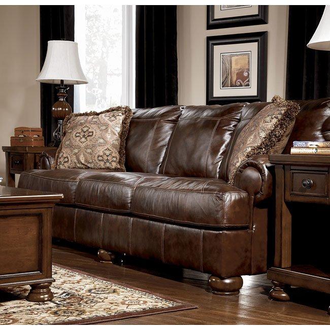 axiom  walnut living room set signature designashley