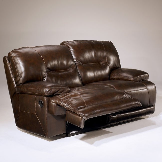 Exhilaration Chocolate Reclining Living Room Set By