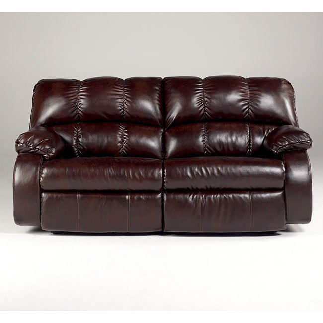 Knockout Durablend Redwood 2 Seat Reclining Sofa W Power
