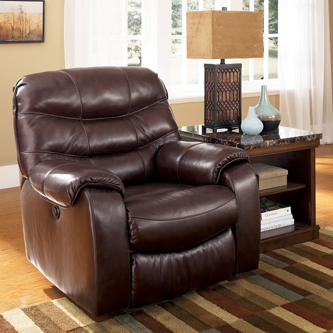Ashley Furniture Jonesboro Arkansas: Burgundy Rocker Recliner By Signature Design By