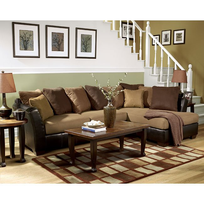 Saddle Sectional Living Room Set Signature Design