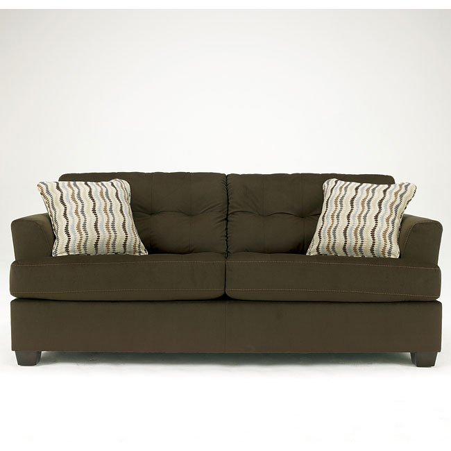 Ashley Furniture Stores Dallas: Chocolate Sofa By Signature Design By Ashley