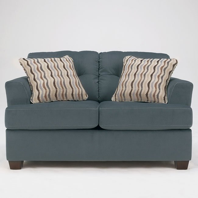 Ashley Furniture Stores Dallas: Steel Living Room Set By Signature Design By