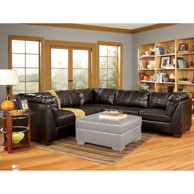 Ashley Furniture San Francisco: Chocolate 5-Piece Modular Sectional By