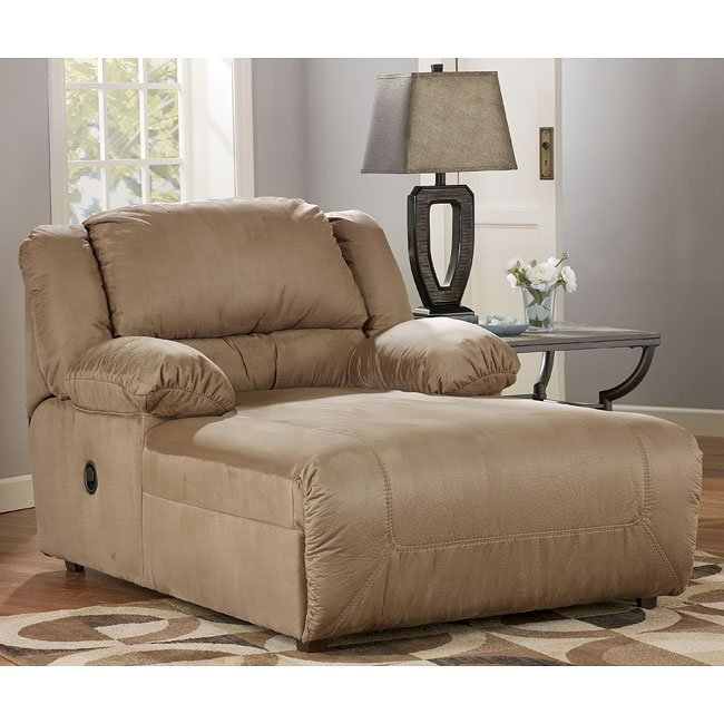 Hogan Mocha 2 Arm Pressback Chaise