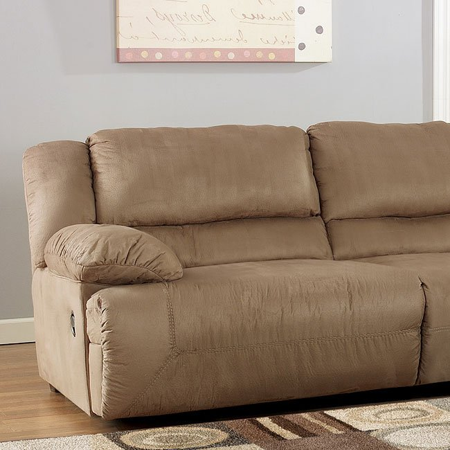 Hogan Mocha 0 Wall Left Facing Recliner By Signature Design Ashley