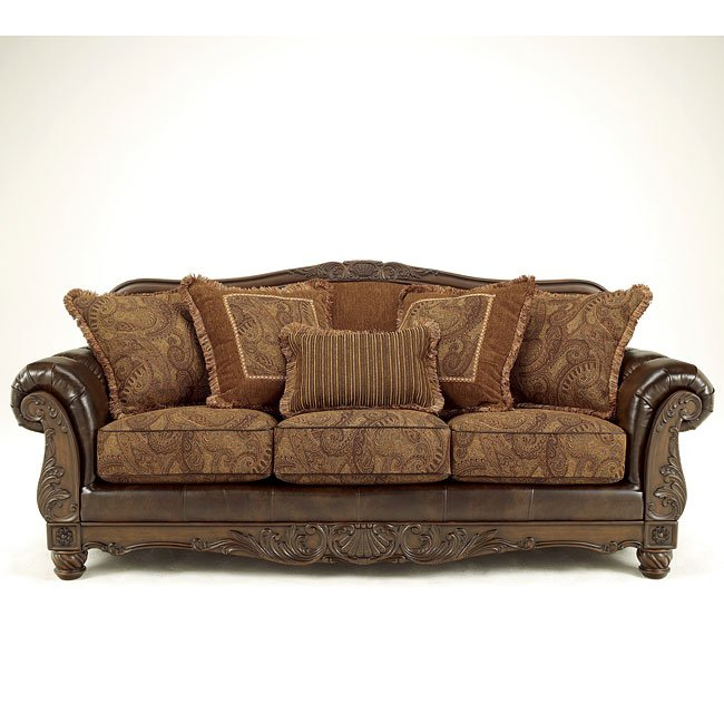 Leather Sofas In Lahore: Antique Sofa By Signature Design By