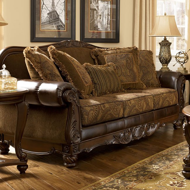 Strange Fresco Durablend Antique Living Room Set Home Remodeling Inspirations Basidirectenergyitoicom