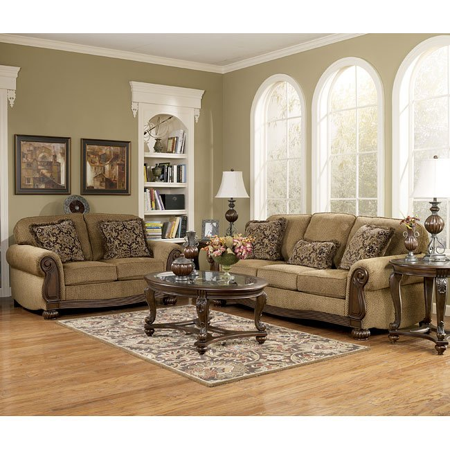 Amber Living Room Set Signature Design By