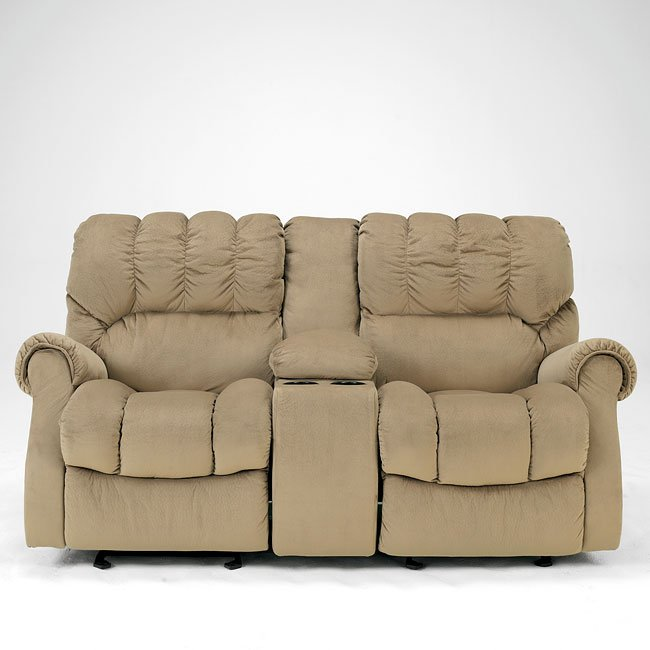 Remarkable Sorrell Mocha Dual Glider Reclining Loveseat W Console Uwap Interior Chair Design Uwaporg