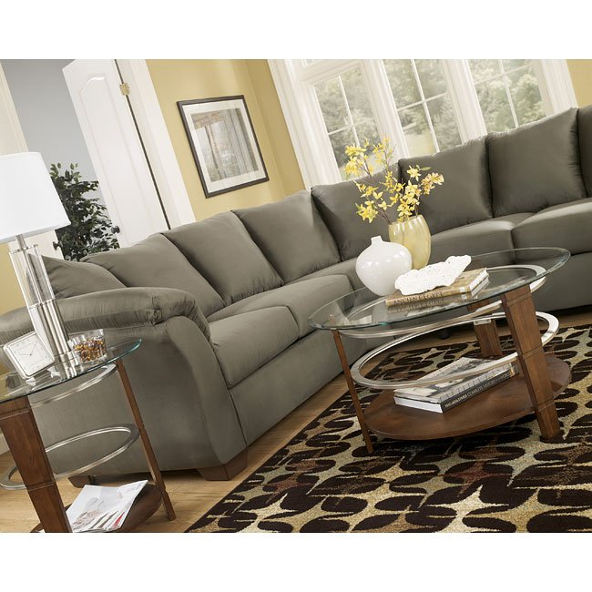 Ashley Furniture Darcy Sage Chair: Sage Sectional By Signature Design By Ashley