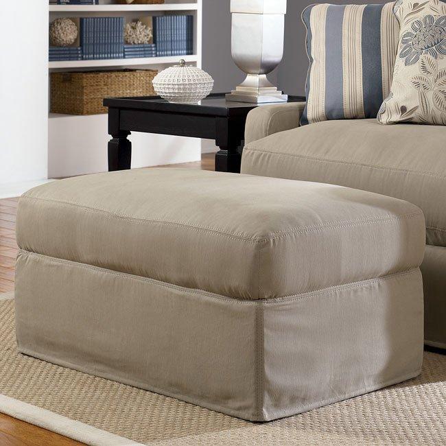 addison khaki ottoman signature design by ashley furniture rh furniturepick com