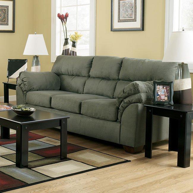 Jupiter   Sage Full Sofa Sleeper