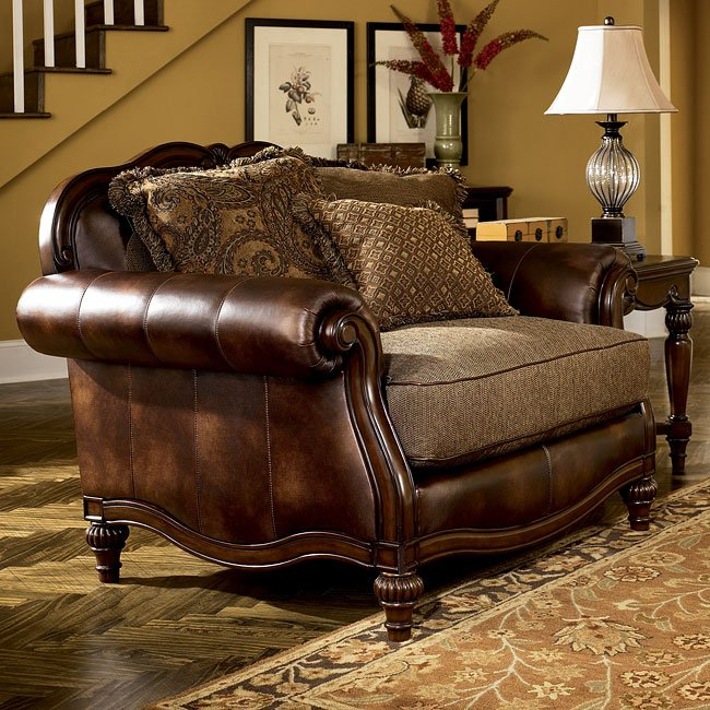 Ashley Furniture Online Catalog: Antique Chair And Half Signature Design By