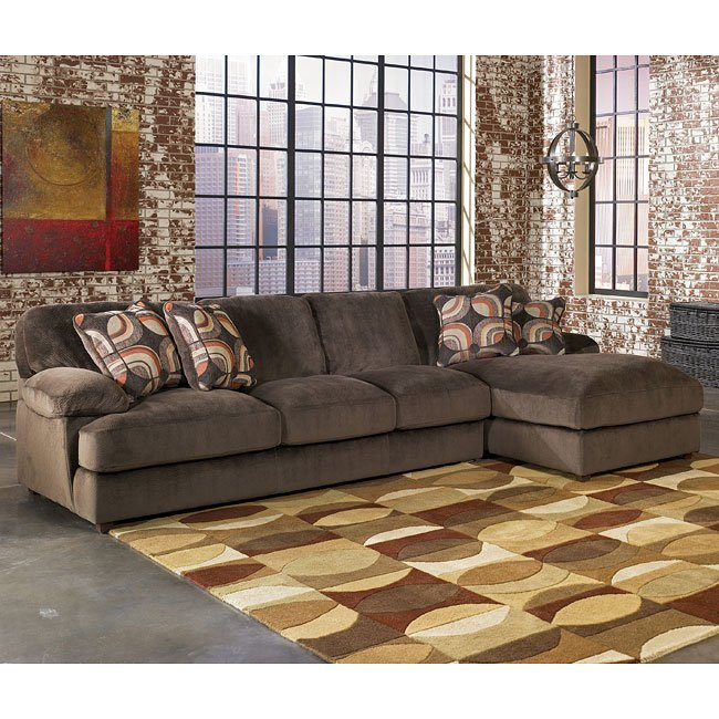 Truscotti Cafe Chaise Sectional Set By Signature Design
