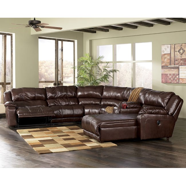 Braxton Java 6 Piece Modular Sectional By Signature Design By