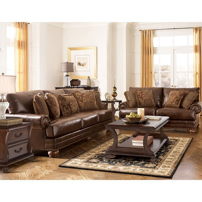 DuraBlend - Antique Living Room Set