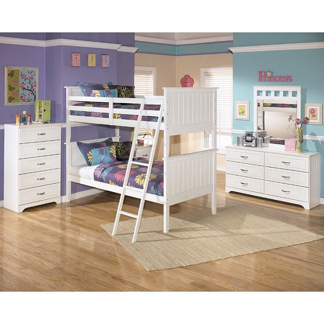 Lulu Bunk Bed Bedroom Set By Signature Design By Ashley 1 Reviews