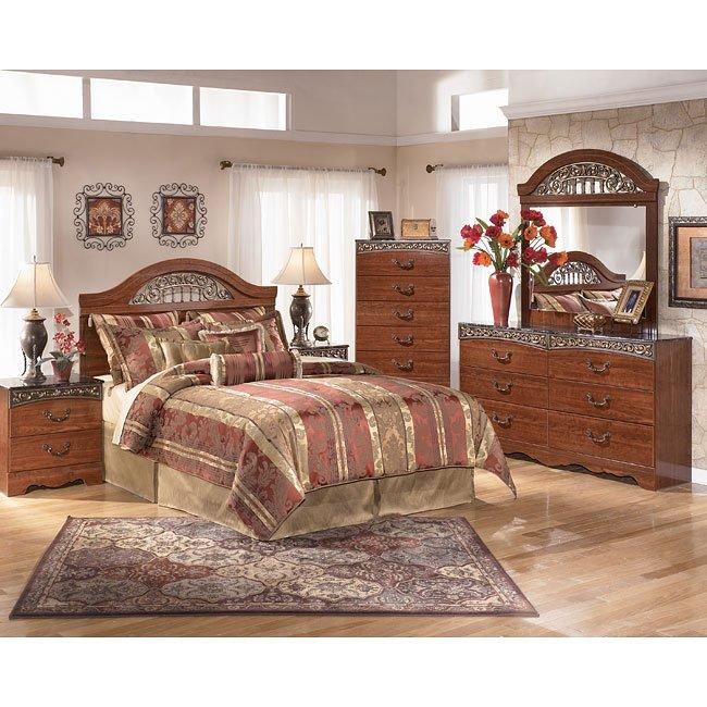 Fairbrooks Estate Headboard Bedroom Set Signature Design