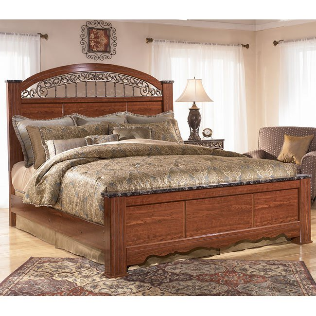 Fairbrooks Estate Poster Bed By Signature Design By Ashley