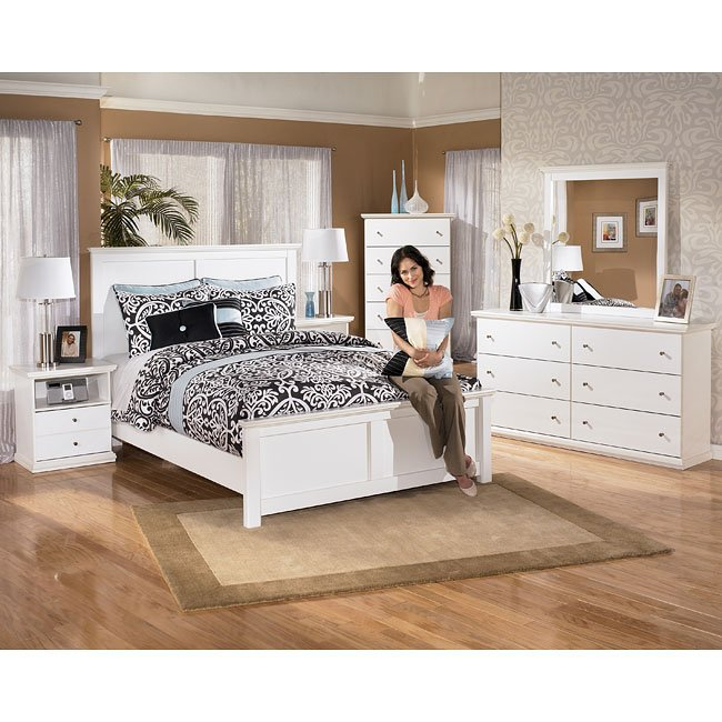 Bostwick shoals panel bedroom set by signature design by - Ashley furniture pheasant run bedroom set ...