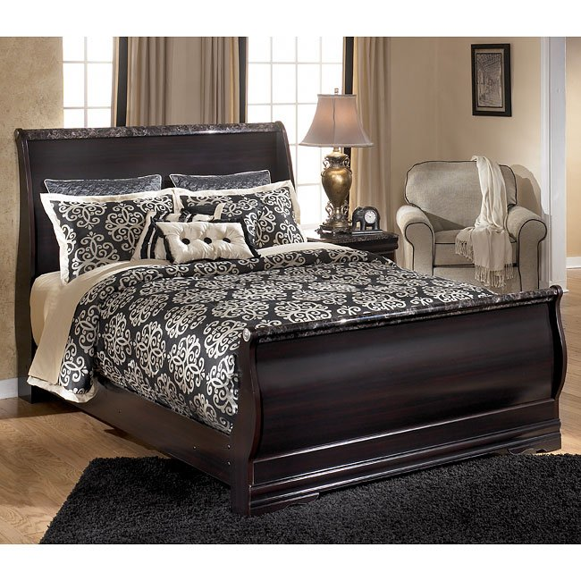 Esmarelda sleigh bedroom set by signature design by ashley - Ashley bedroom furniture reviews ...