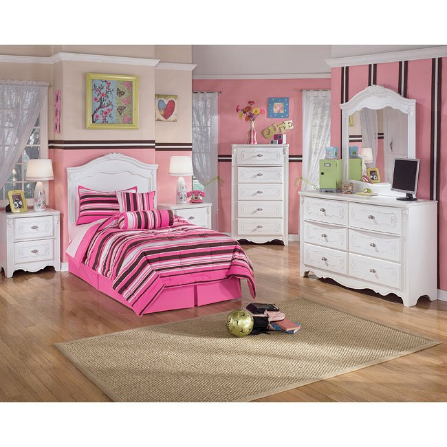 exquisite headboard bedroom set by signature design by 11523 | sig b188 a hbrd br set 1