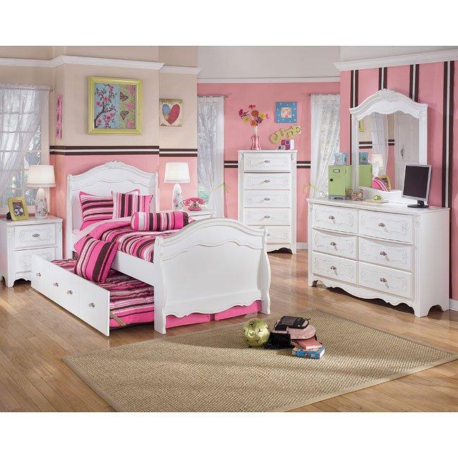 exquisite sleigh bedroom set signature designashley