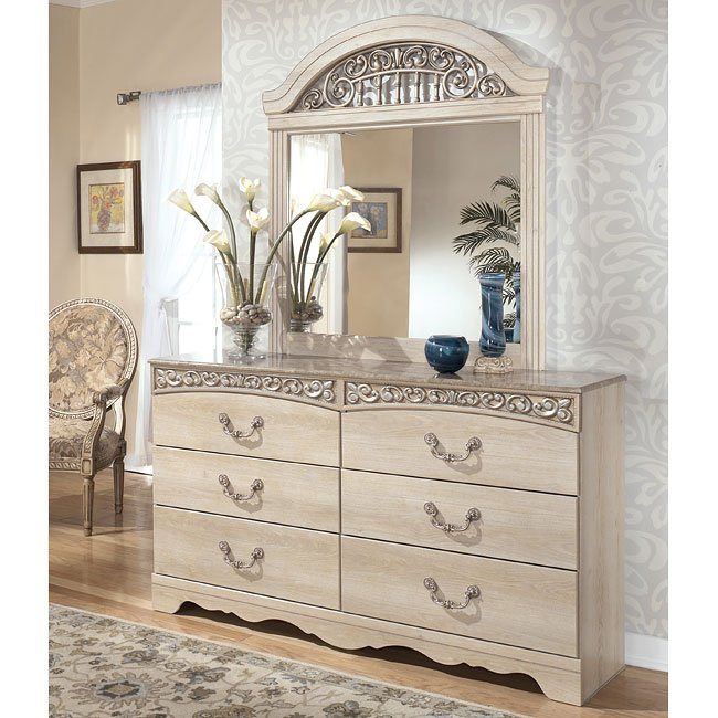 Catalina headboard bedroom set by signature design by - Ashley furniture pheasant run bedroom set ...